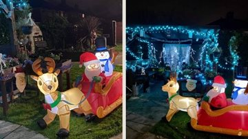 Manchester care home Colleagues create wonderful winter grotto